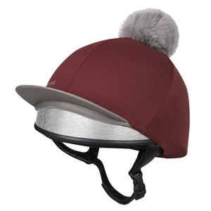 LeMieux Pom Pom Hat Silk - Rioja in Rioja