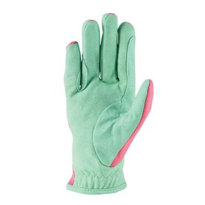 Hy Equestrian Thelwell Collection Trophy Gloves - Mint/Pink