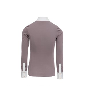 Alessandro Albanese Clean Cool Fresh Ladies Competition Shirt - Antique Plum