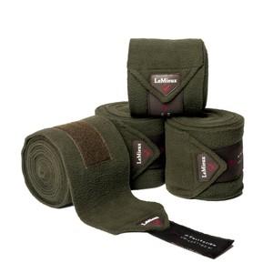 LeMieux Polo Bandages Oak Green - Set of 4 in Oak