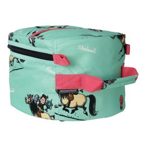 Hy Equestrian Thelwell Collection Trophy Grooming Bag - Mint/Pink