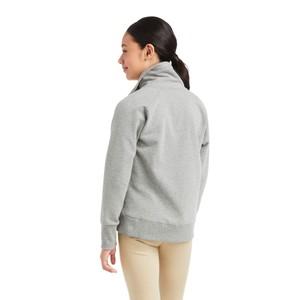 Ariat Kids Team Logo Sweatshirt - Heather Grey