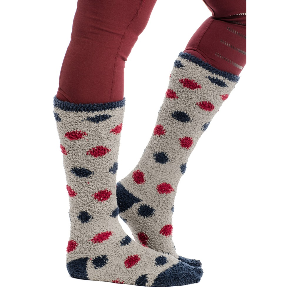 Horseware Softie Socks - Misty Grey in Misty Grey