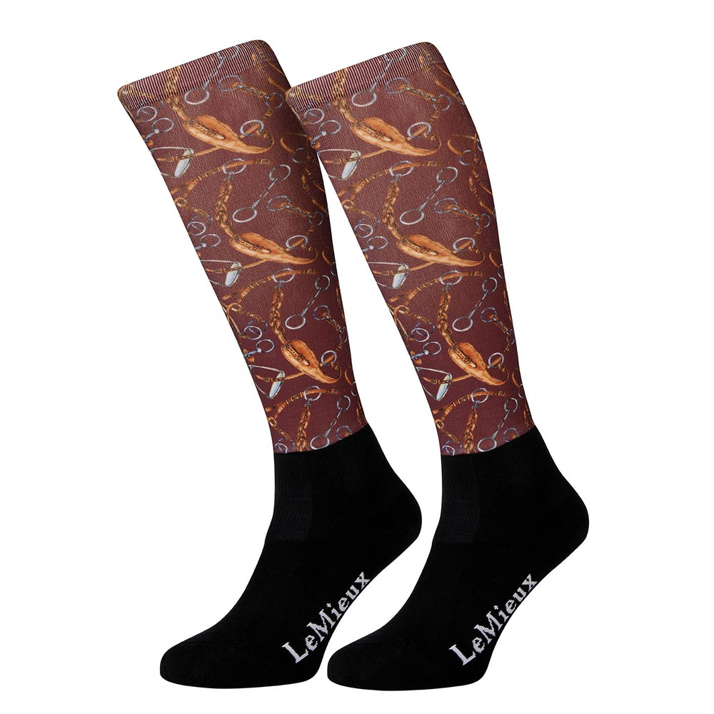 LeMieux Footsies Socks - Bits Junior in Bits
