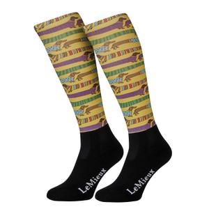 LeMieux Footsies Socks - Sausage Dogs Junior in Sausage Dogs