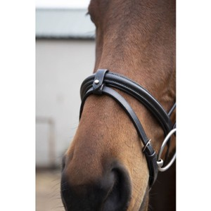 Eco Leather Eco 40 Classic Comfort Flash Bridle - Brown