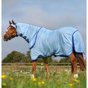 Horseware Amigo Amigo Ripstop Hoody in Azure/Strong Blue/Silver