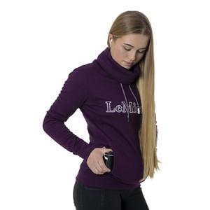 LeMieux Highland Funnel Neck Hoodie - Grape in Grape