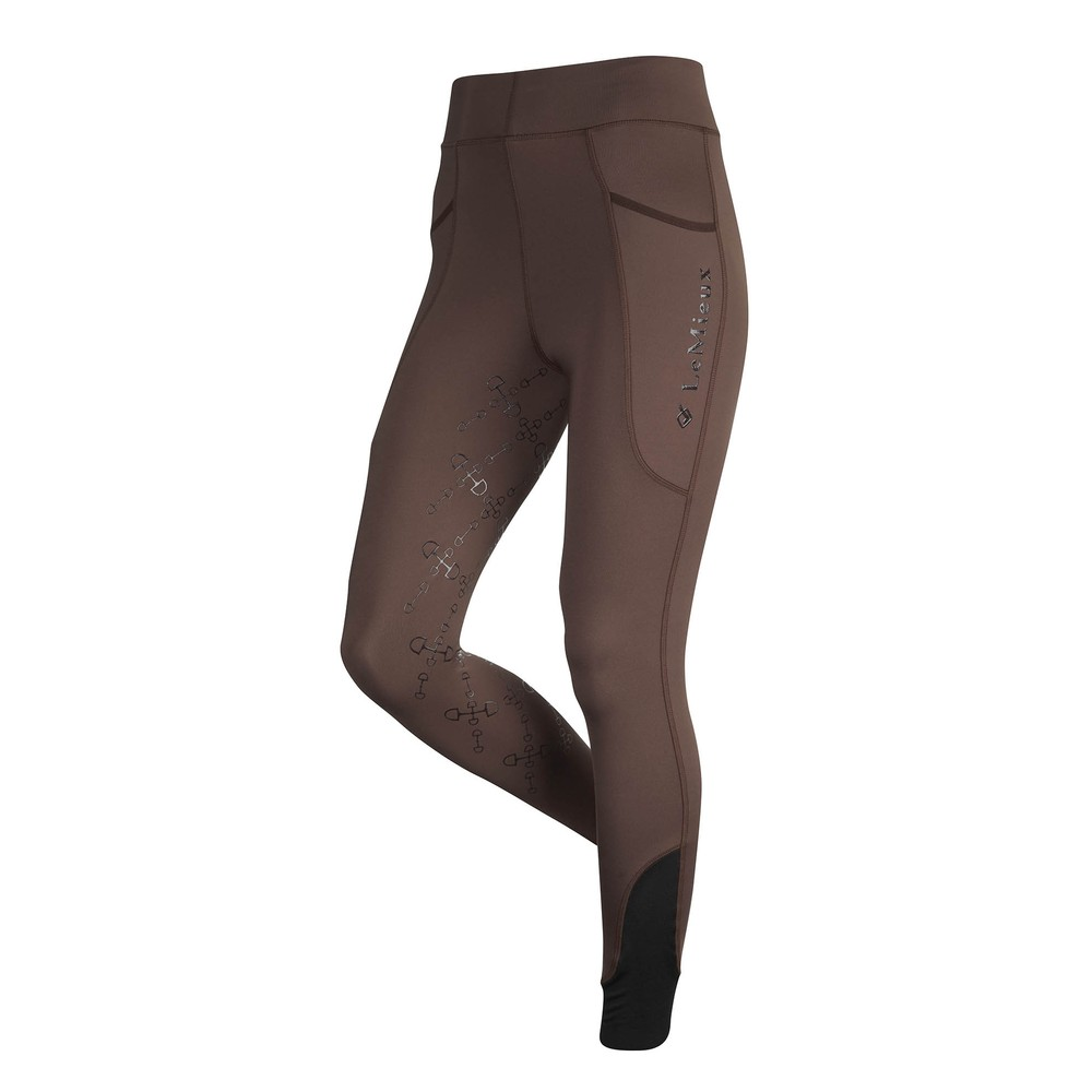 LeMieux Le Mieux Winter ActiveWear Seamless  Pull Ons - Brown in Brown