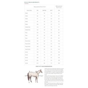 Horseware Rhino Rhino Pony All In One 400g in Berry/Grey/White Check