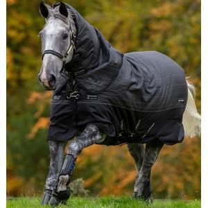 Horseware Amigo Amigo Bravo 12 Reflectech Plus  250g Medium in Black/Reflective/Black