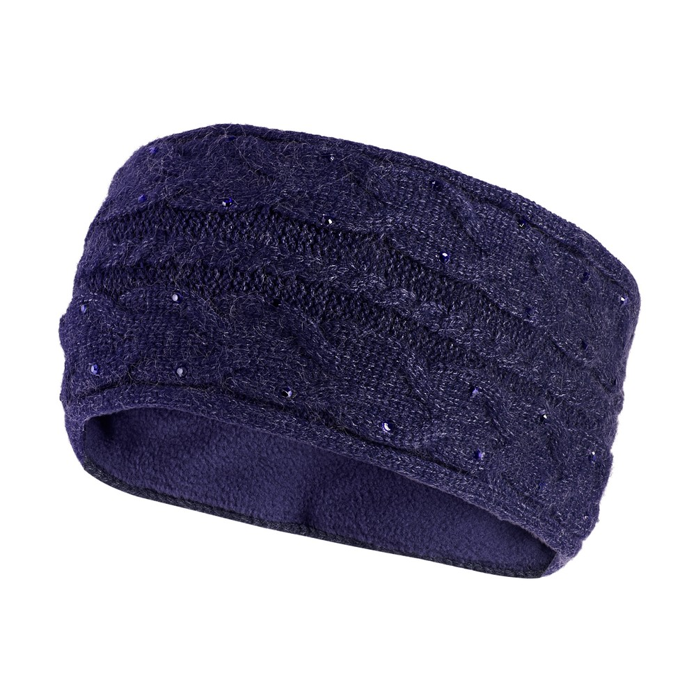 Schockemohle Crystal Headband.SP Style - Navy in Navy