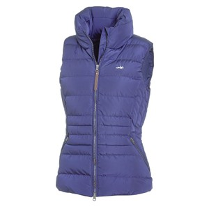 Schockemohle Ladies' Quilted Vest - Malia.SP Style - Jeans Blue in Jeans Blue