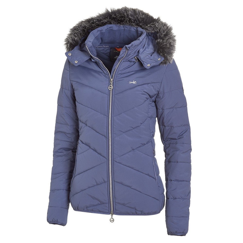 Schockemohle Ladies Jacket - Vicky.SP Style - Jeans Blue in Jeans Blue