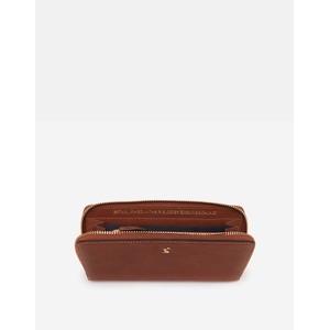 Joules Langton Large Purse - Medium Tan