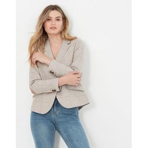 Joules Enid Short Tweed Blazer in Tweed