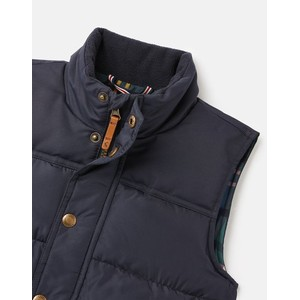 Joules Matchday Country Padded Gilet - Kids - Marine Navy