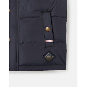Joules Matchday Country Padded Gilet - Kids - Marine Navy in Marine Navy