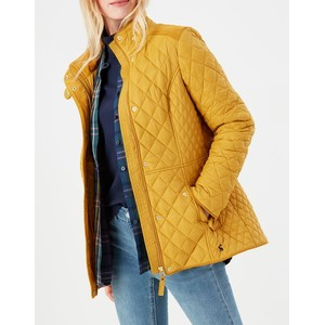 Joules Newdale Quilted Jacket - Caramel