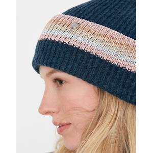 Joules Vinnie Knitted Beanie - French Navy