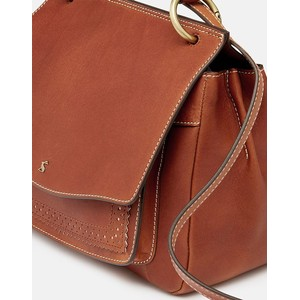 Joules Faybridge Leather Shoulder Bag - Tan