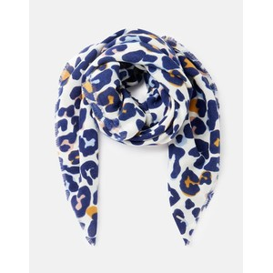 Joules Willow Scarf - Multi Leopard