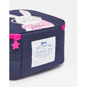 Joules Munch Lunch Bag - Navy Rabbit in Navy Rabbit