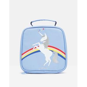 Joules Lunch Bag - Blue Unicorn in Blue Unicorn