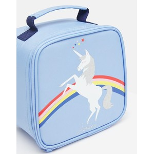 Joules Lunch Bag - Blue Unicorn