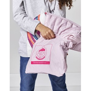 Joules Kids Croft Packable Gilet 1-12 Years - Soft Pink
