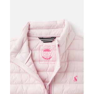 Joules Kids Croft Packable Gilet 1-12 Years - Soft Pink in Soft Pink