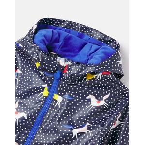 Joules Raindance Showerproof Coat - Kids - Horsespot in Horsespot
