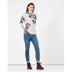 Joules Hooded Sweatshirt  - Grey Stripe