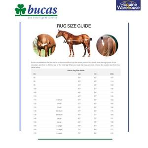 BUCAS Bucas Irish Turnout Light 50g High Neck in Black/Gold