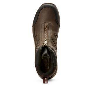 Ariat Wemons Telluride Zip H20 - Dark Brown in Dark Brown