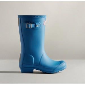 Hunter Original Big Kids Wellington Boots - Polar Blue