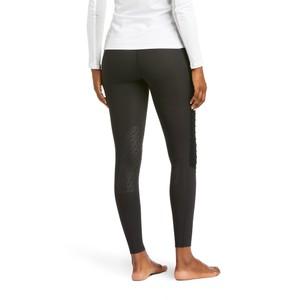 Ariat Women's Eos Moto Knee Patch Tight - Black