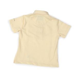 Aubrion Short Sleeve Tie Shirt - Child - Yellow