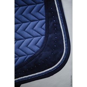 Schockemohle Power Pad D Style, Saddle Pad - Jeans Blue