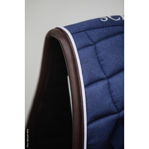 Schockemohle New Dynamic Pad D Style Saddle Pad - Jeans Blue in Jeans Blue