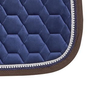 Schockemohle New Magic Pad D Style Saddle Pad - Jeans Blue