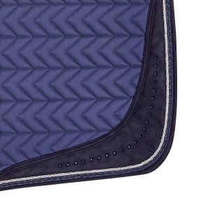 Schockemohle Power Pad S Style, Saddle Pad - Jeans Blue