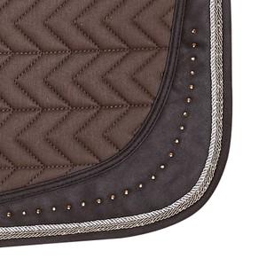 Schockemohle Power S Style, Saddle Pad - Walnut