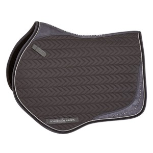 Schockemohle Power S Style, Saddle Pad - Graphite in Graphite