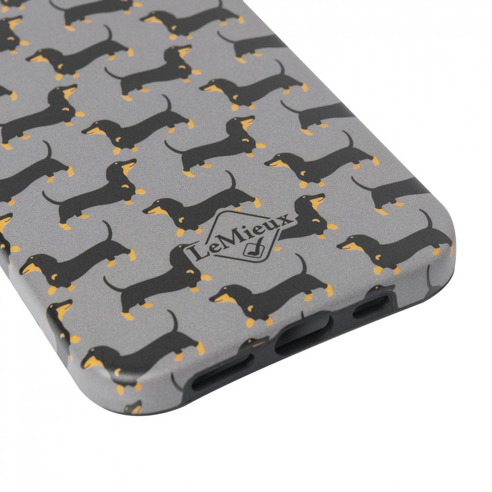 LeMieux Sausage Dog iPhone 11 Case - Grey in Grey