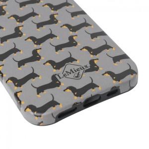 LeMieux Sausage Dog iPhone 12  Case - Grey in Grey