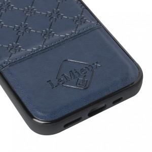 LeMieux Luxury iPhone 12 Case - Navy in Navy