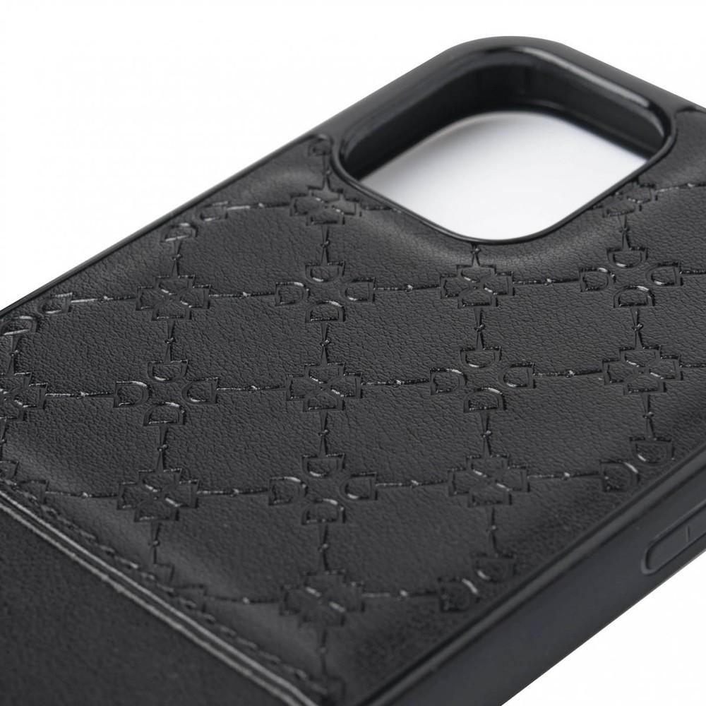 LeMieux Luxury iPhone 11 Case - Black in Black
