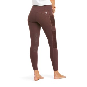 Ariat Womens EOS Moto Knee Patch Tight Cocoa in Cocoa