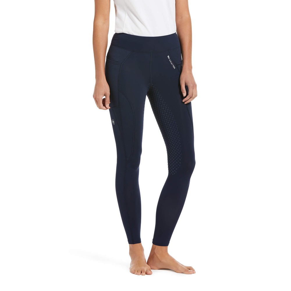 Ariat Women's Prevail Insulated Full Seat Tight - Navy Reflective in Navy Reflective